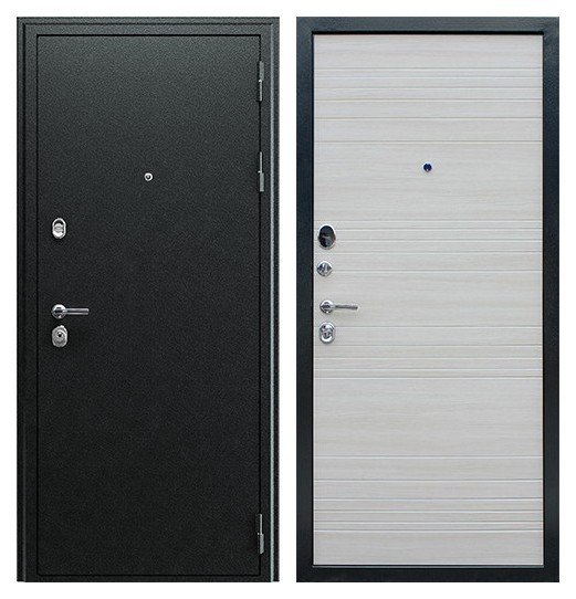 Входные двери трехконтурные в квартиру СП153