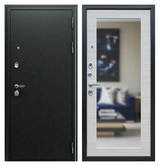Дверь с зеркалом с тремя контурами СП155