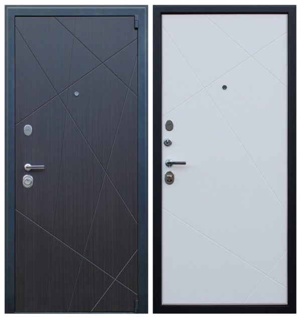 Дверь входная металлическая трехконтурная СП164