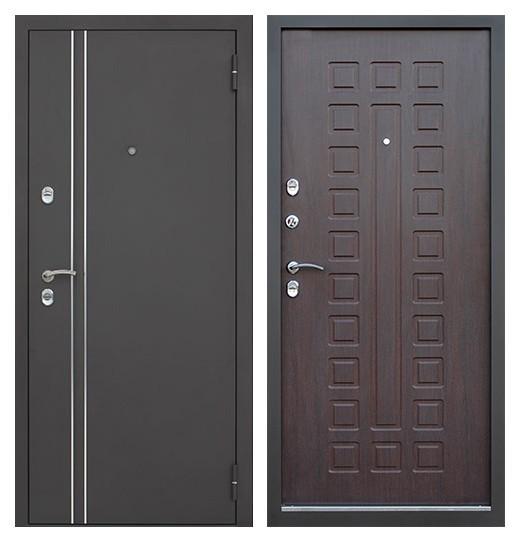 Металлическая дверь 3 контура уплотнения СП177