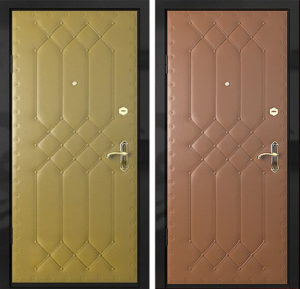 Входная металлическая дверь винилискожа СП307
