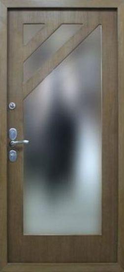 Входная металлическая дверь с зеркалом СП041